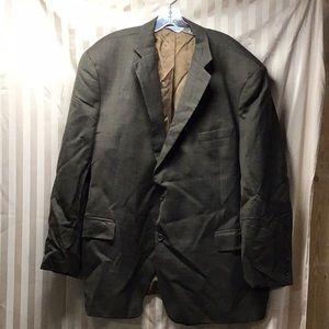 Joseph & Feiss International Mens Brown Suit Coat